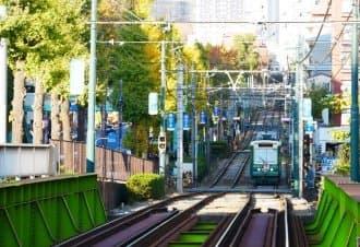 <div class='captionBox title'>【東京】玫瑰與銀杏相伴的優雅身影,秋季的Tokyo Sakura Tram(都電荒川線)</div>