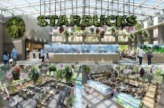 <div class='captionBox title'>這個Starbucks不一樣!日本大型溫室植物園「HANA・BIYORI」百花環繞的星巴克</div>