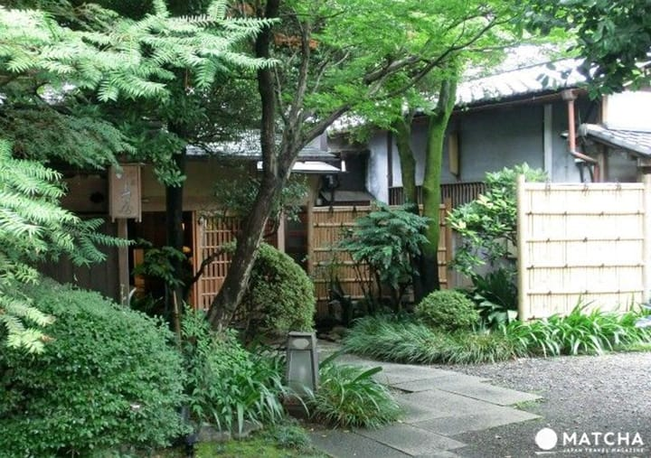 埼玉県川越市「山屋」。四季の景色を眺めて楽しむ料亭ランチ