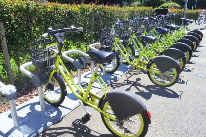 Kawagoe Bicycle Sharing - Tour The City On A Green Stallion!