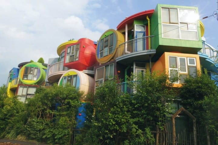Stay in Art! The Deeply Moving 'Reversible Destiny Lofts MITAKA'