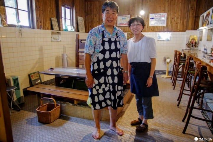 【大分縣】浴槽內吃飯?!竹田市新鮮體驗:咖啡屋「アートスペース&カフェ大蔵清水湯」