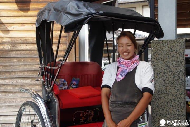 Explore Beautiful Yufuin in Oita through the Ebisuya Rickshaw Tours!