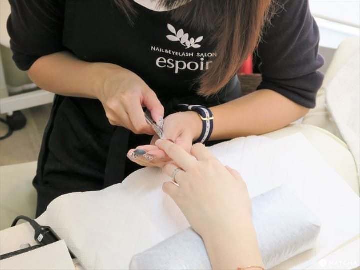 Shibuya Espoir: Try Gel Nails And Eyelash Extensions At A Beauty