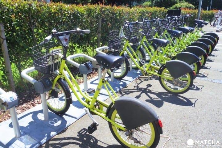 【埼玉县】骑单车游川越,自行车租赁服务「川越市自行車シェアリング」