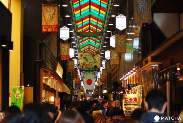 แหล่งช้อปปิ้งในเกียวโตสำหรับหาซื้อของฝากสไตล์ญี่ปุ่น
