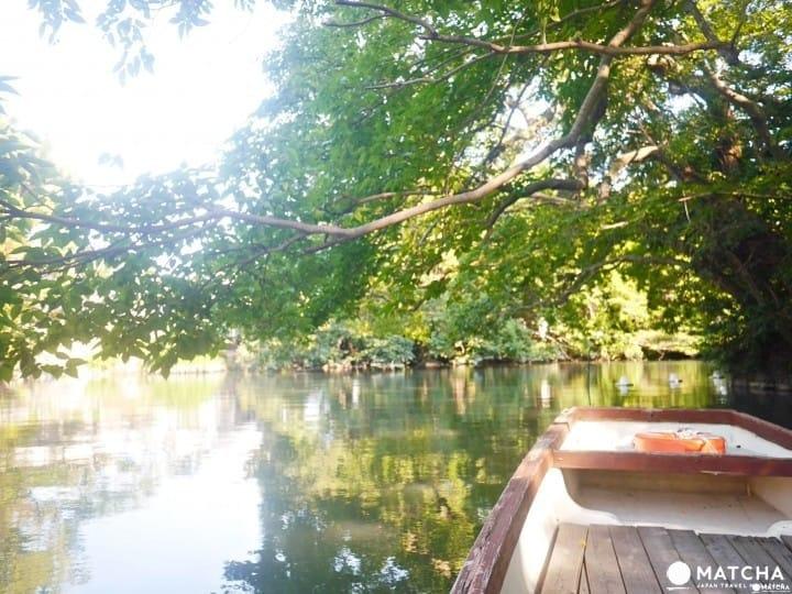 후쿠오카(福岡)의 물의 고향 「야나가와(柳川)」에서 기모노를 입고 배와 함께  떠나는 반나절 여행