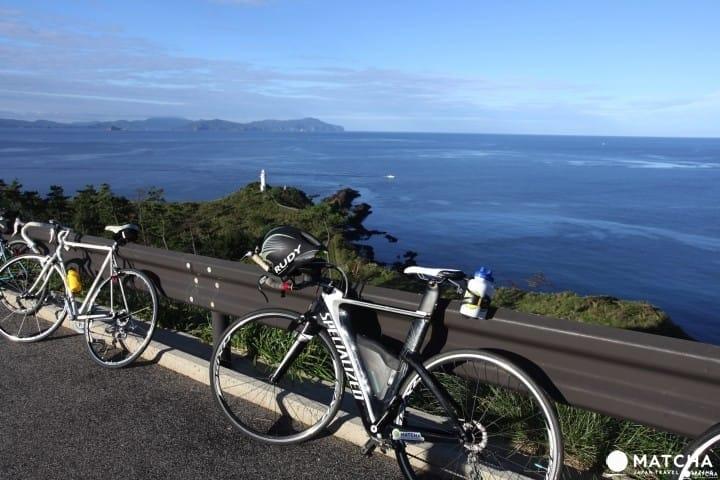 """ปั่นจักรยานชม """"เกาะโอกิโนะชิมะ"""" อุทยานธรณีโลกจ.ชิมาเนะ"""