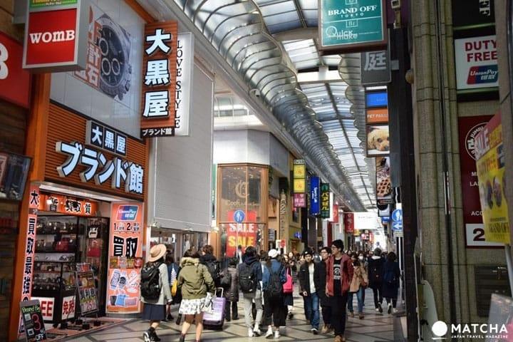 梅田,难波,心斋桥等,大阪购物点11选