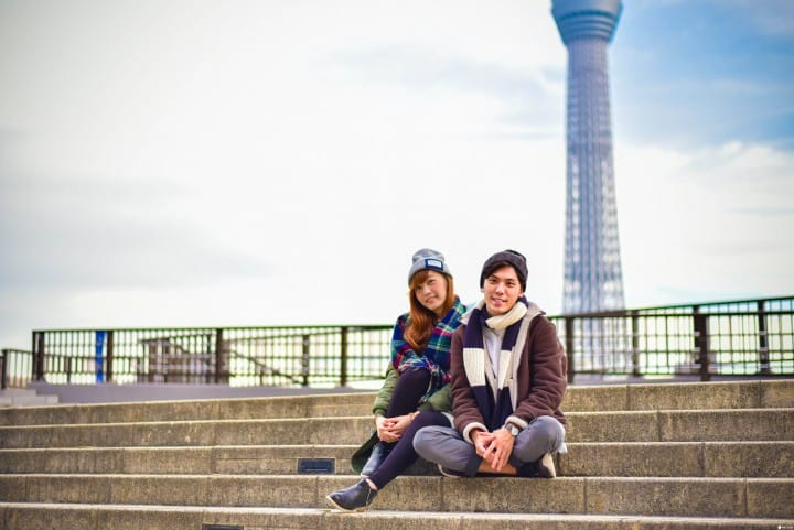 日本观光必备资讯!1,2月东京天气与服装穿搭示范