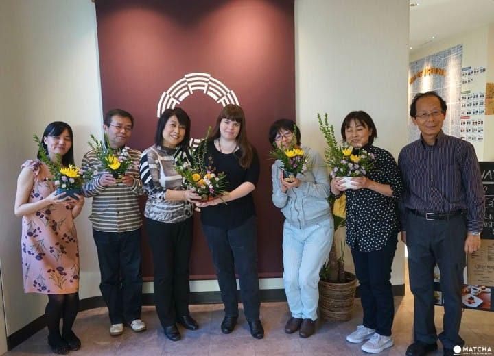 Learn In English! Ikebana Workshop For Travelers In Nishiarai