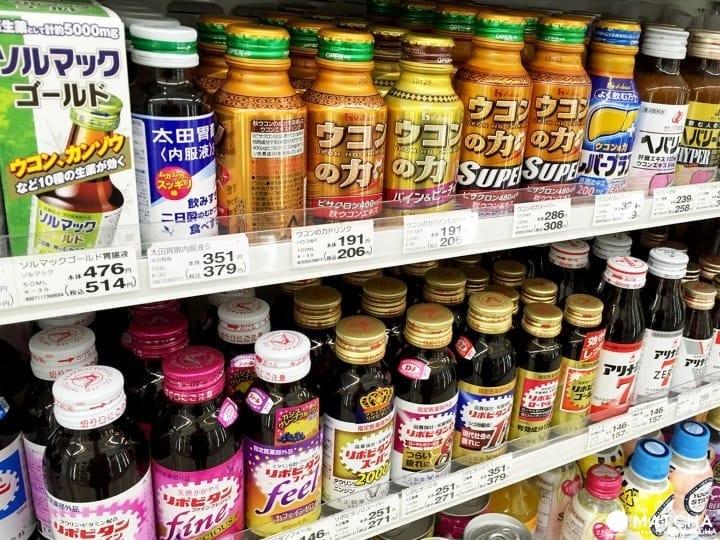 你累了吗?日本人的精神依靠-营养提神饮料