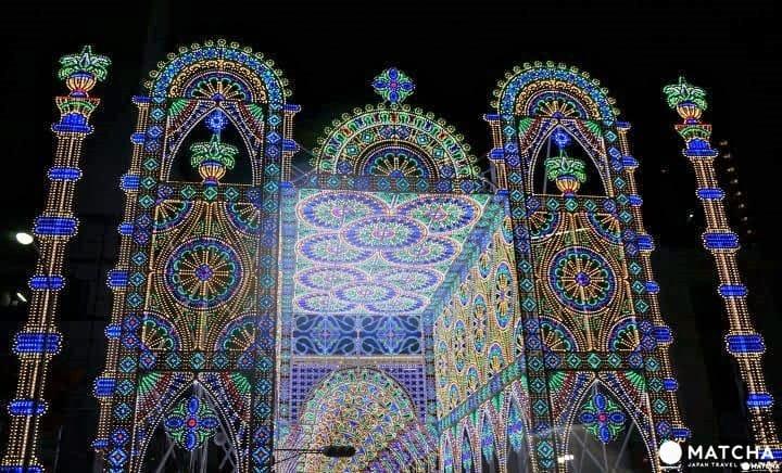 關西代表性冬季限定點燈─神戶LUMINARIE光之祭典