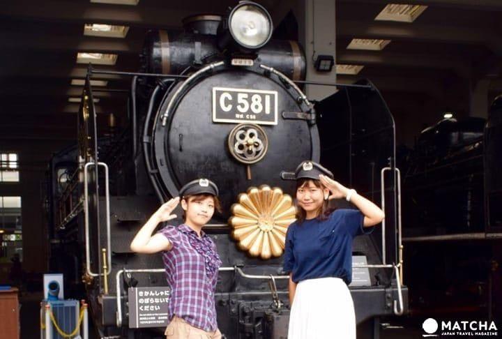 Xem, tiếp xúc, trải nghiệm! Tìm hiểu về đường sắt Nhật Bản tại bảo tàng đường sắt Kyoto!