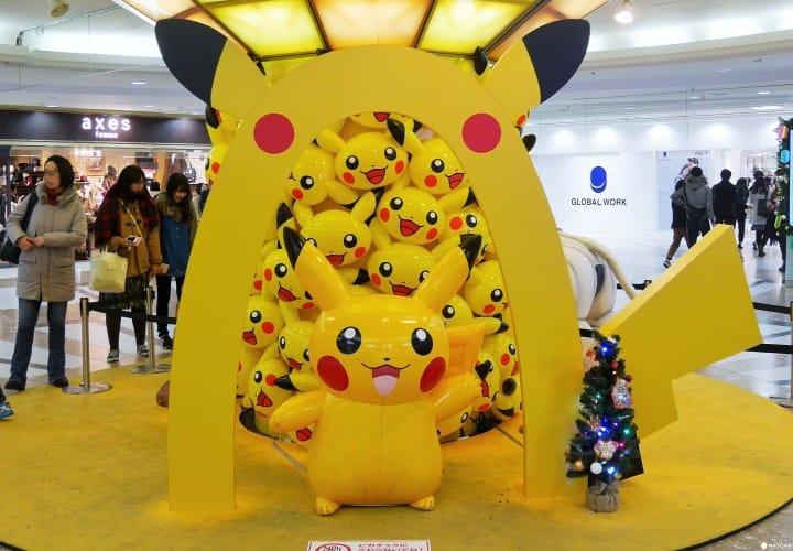 Pokémon寶可夢旗艦店,池袋登場!一起Pokémon Go!