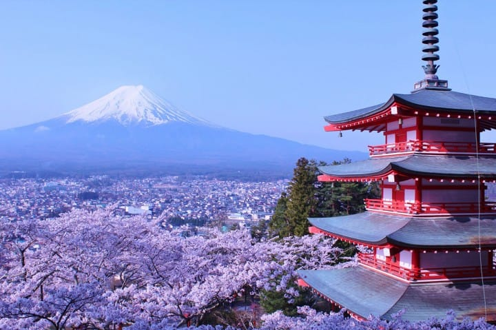 Best place to see mount fuji
