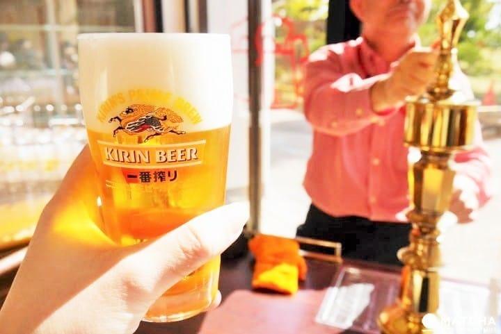 啤酒免費喝!仙台KIRIN麒麟啤酒觀光工廠