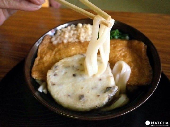 ถ้าคุณกินอันนี้สอบผ่านแน่นอน!?ของขึ้นชื่อของศาลเจ้าโอซาก้าเทนมังกู 「สุเบะรันอุด้ง」