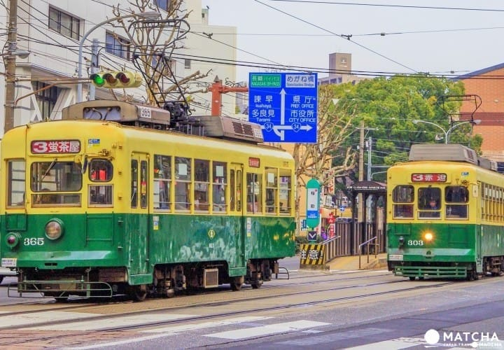 路面电车一日券:铜板一枚穿梭长崎观光景点