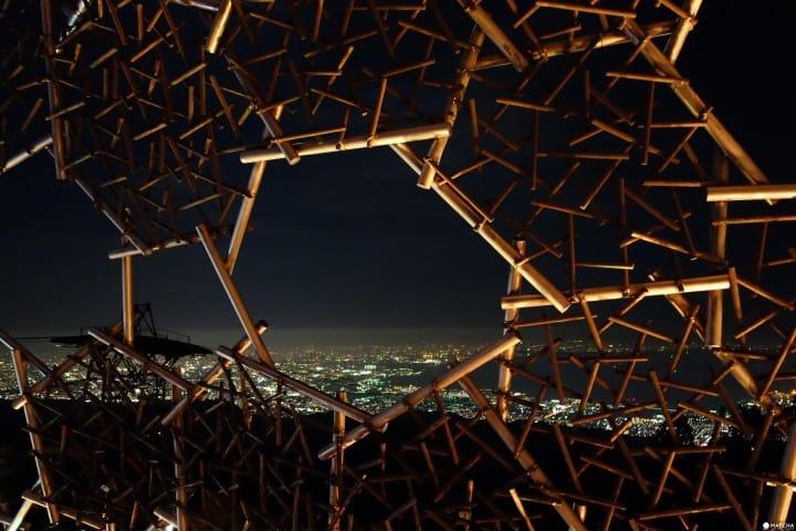 【神户夜景】三分一博志打造的六甲山光之艺术展望台