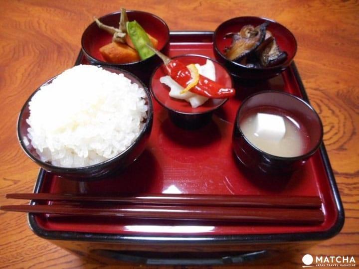 일본여행 토막상식「정진 요리(精進料理)」