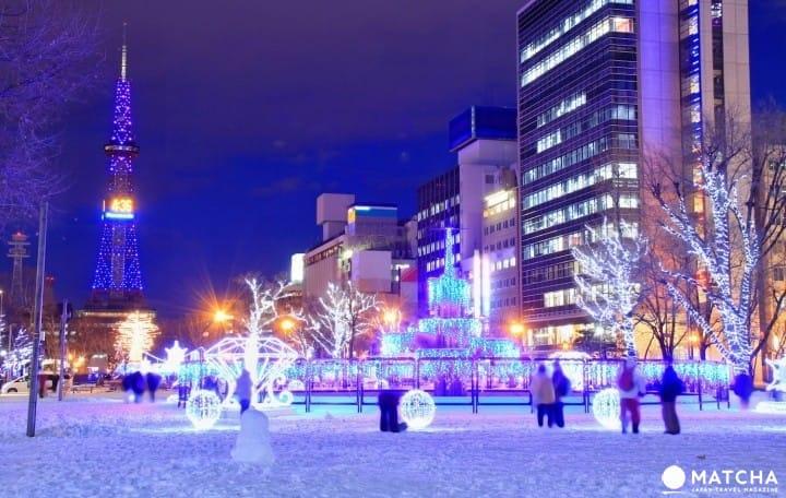 ทุกเรื่องต้องรู้ก่อนเที่ยวซัปโปโร! 10 แหล่งเที่ยว อากาศ เสื้อผ้า การเดินทาง (Sapporo, Hokkaido)
