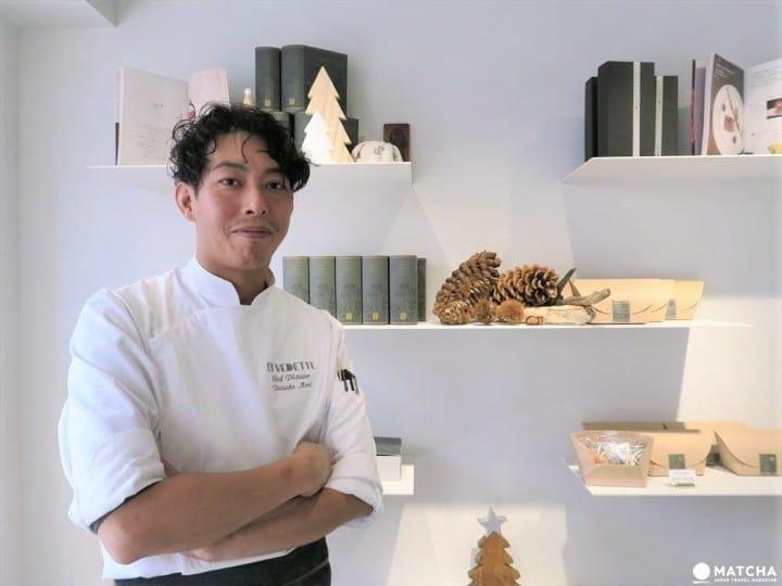 """日本甜點師製作的有日本特色的法式甜點—""""EN VEDETTE"""""""