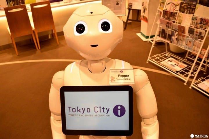 「Tokyo City-i」ปรึกษาปัญหาเวลาเที่ยวที่ญี่ปุ่น&โตเกียวได้4ภาษา!!สำนักงานแนะนำข้อมูลการท่องเที่ยวเชื่อมต่อโดยตรงกับสถานีโตเกียว
