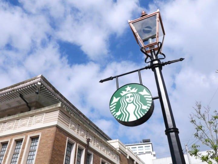 『关西景点』到JR奈良旧车站内星巴克品尝一杯咖啡