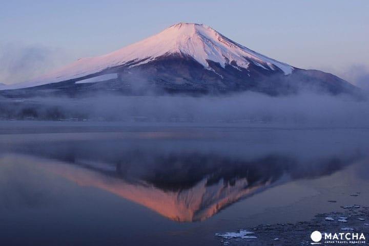 抹茶帶您登上富士山山頂,看雲海、望未來