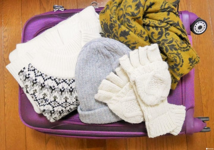 『冬季』旅行收納小撇步 簡單裝箱go!