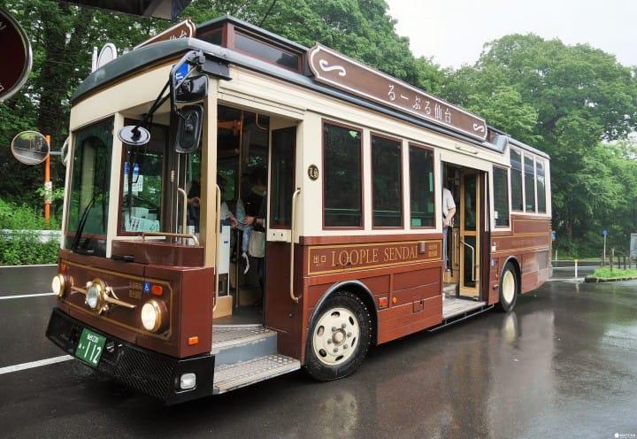 【仙台】可以玩什麼?來搭るーぷる(LOOPLE)仙台觀光巴士吧!