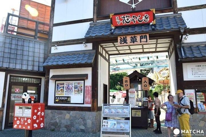 東京.淺草古色古香遊樂園「花屋敷 (花やしき)」導覽