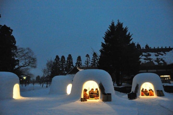 Indahnya Pemandangan Salju Jepang dan Tradisi Festival Salju Yokote (Edisi 2020)