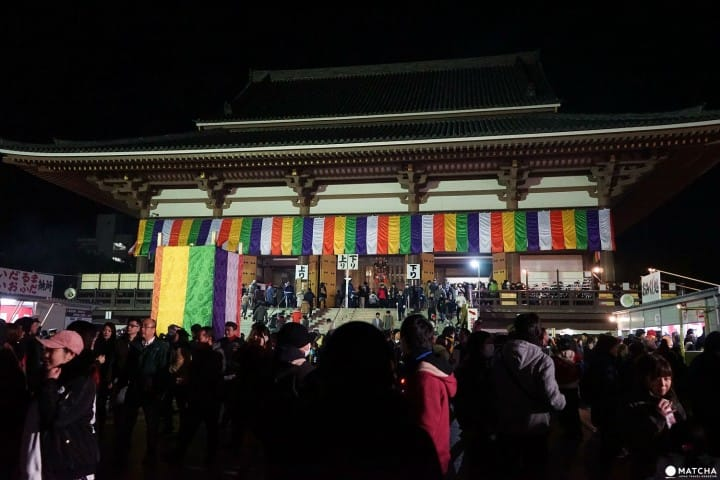 A Once A Year Experience! Midnight Temple Visit to Nishiarai Daishi
