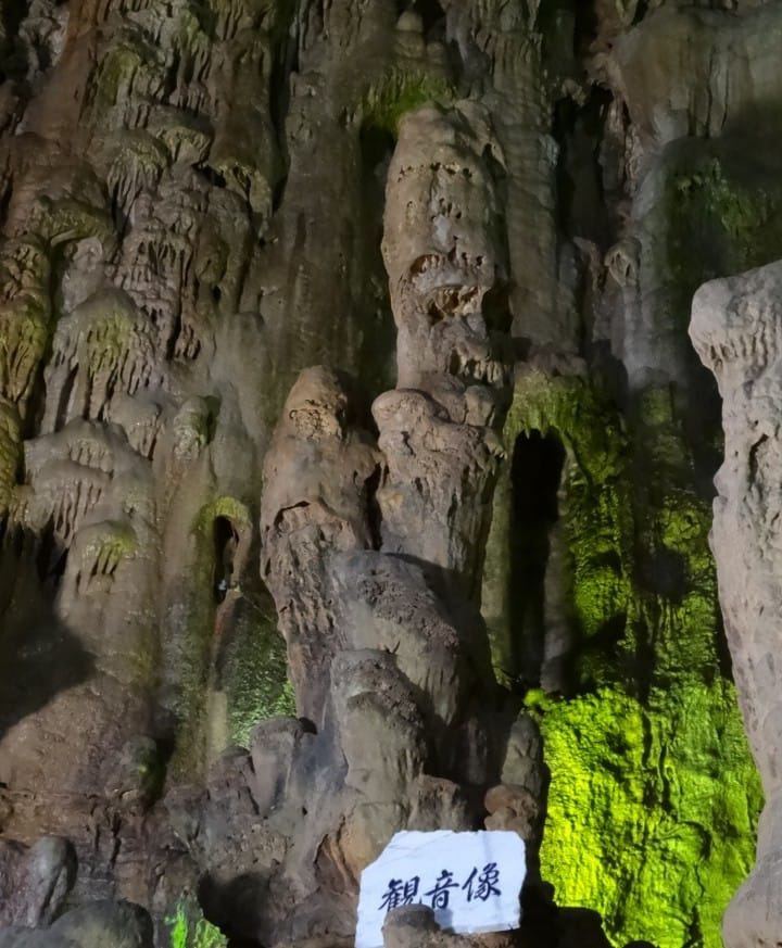 Going underground to discover stunning 80-million old natural sculptures of Japan's Abukuma Cave