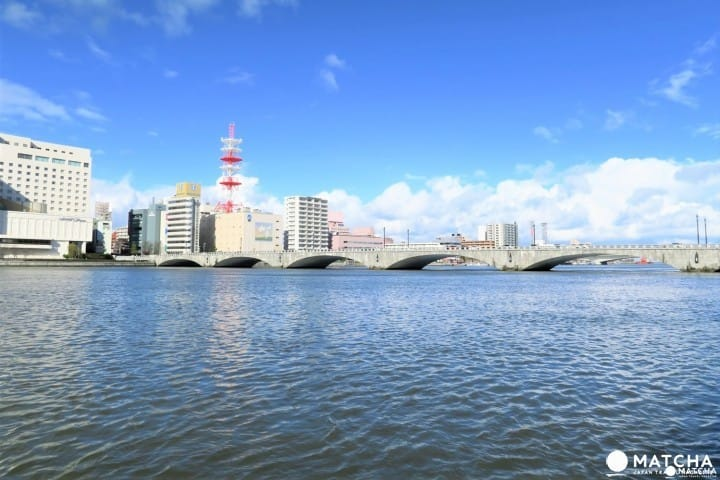 A Close Look At The Bandai Bridge, Niigata's Symbol