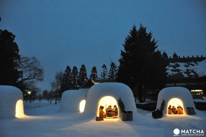 아름다운 일본의 눈과 웅장한 봉납 행사를 만끽할 수 있는 「요코테 눈 축제」