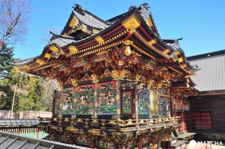 사이타마현에 닛코 도쇼구가!? 일본 삼대 성천의 하나   「메누마 쇼덴잔」