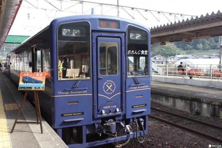 【鹿兒島】盡情體驗當地美食!!觀光列車「橙食堂」上的短途旅行