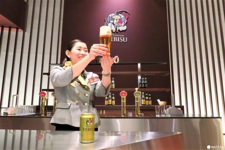 Museum Of Yebisu Beer - Taste The 100-Year History Of Premium Beer