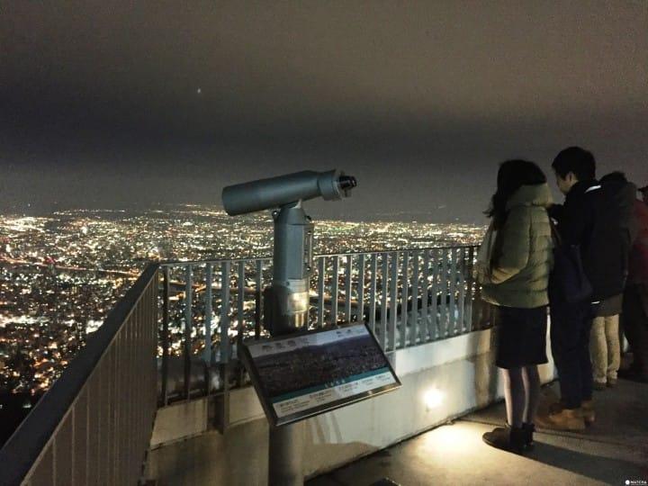 『札幌』日本新三大夜景 戀人聖地藻岩山