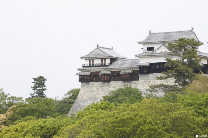 Ride The Ropeway Up The Mountain To Matsuyama Castle, Ehime