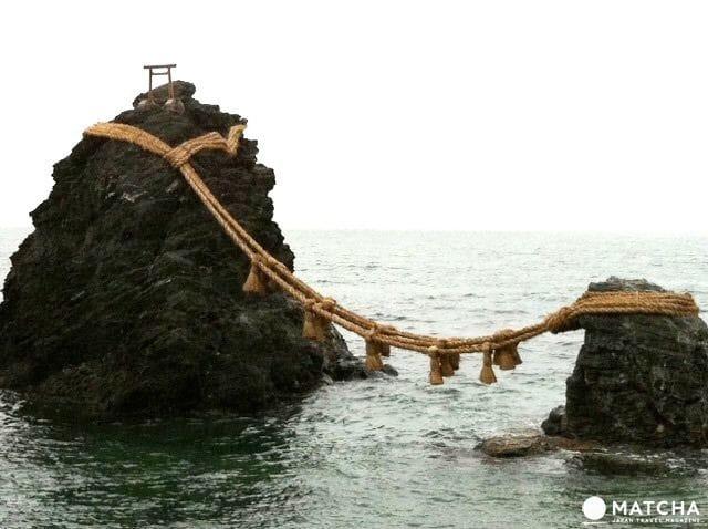 The Wedded Rocks - A Stunning Sight Off Mie's Coastline