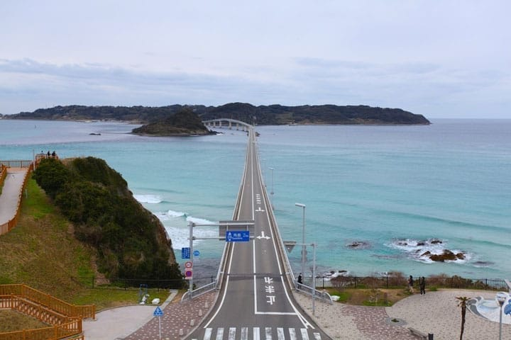 Breathtaking Emerald Green Water! Tsunoshima In Yamaguchi