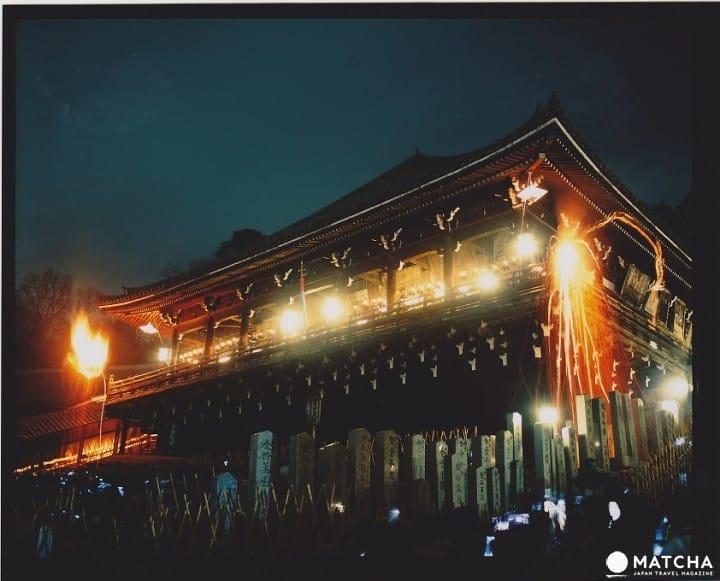 Megahnya Ritual Shunie di Kuil Todaiji Nara! Obor Tanda Mulainya Musim Semi