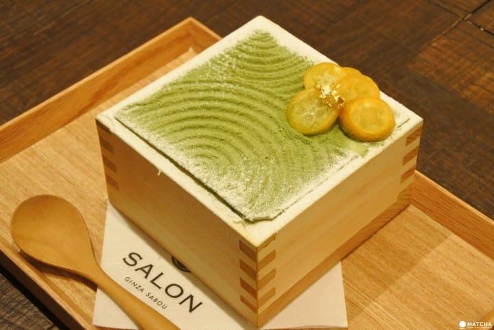 「SALON GINZA SABOU」集日本風味於一品的抹茶聖代