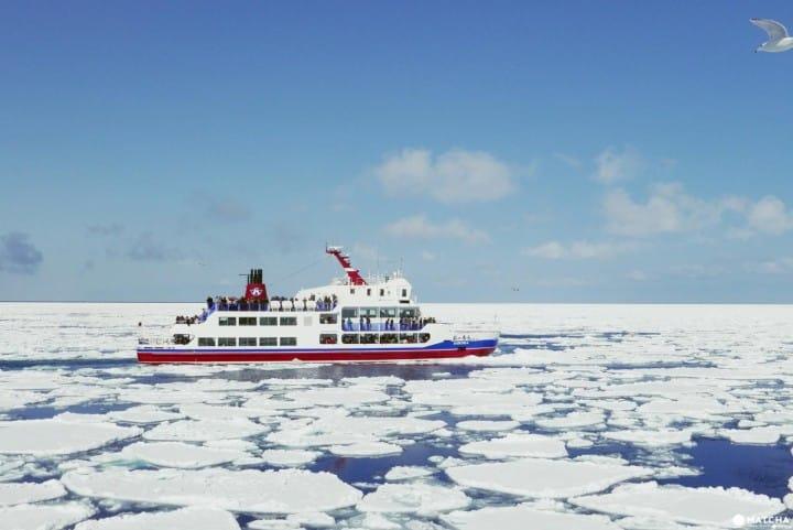 冬季北海道有什么好玩的!网走VS纹别 破冰船比一比