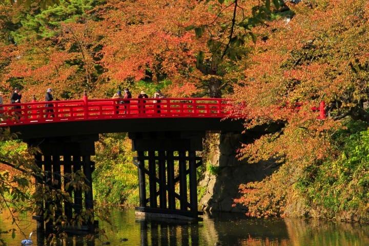 弘前城 橋