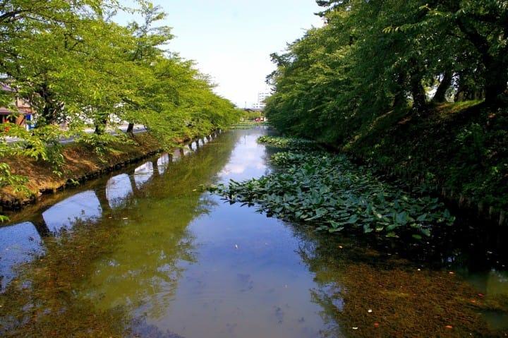 弘前城 護城河